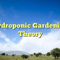 Hydroponic Gardening Theory